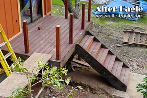 Deck Stairs How We Build